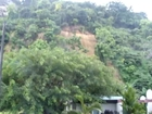 Landslide (Mogote) cause by rain in Puerto Rico