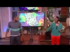 on the Ellen show Ellen and tWitch Try Out 'Just Dance 2014'