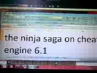 how to hacked element ninja saga with cheat engine 6.1