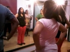 ZUMBA WORKOUT ON BELLY DANCING WITH POOJA KAMATH.