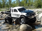 RC ADVENTURES - HONCHO CREEK - MONSTER  AXIAL SCX10 TRUCK TRAILS - WATER FUN
