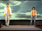 Indian male models flaunt their tight abs at a show, Delhi