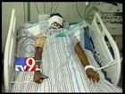 Minor girl serious as nurse operates her - Tv9