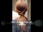 Blair Waldorf hair tutorial