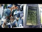 Seattle Seahawks fans, napa-lindol sa sobrang ingay sa isang game!