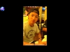Aaron Aziz Makan Seafood Dinner di Newport