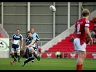 Leigh Halfpenny penalty brings Blues within a point  - Scarlets v Cardiff Blues 20th Apr 2013