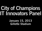 City of Champions: Boston Professional Sports CIO Innovation Panel