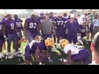 LSU Big Cat Drill March 5, 2012 [Raw Video]