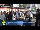 Hasidic Jews on Pilgrimage to Uman, Ukraine: Festival for Rabbi Nachman Breslov on Rosh Hashana