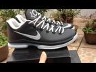 * sportsyyy.com/ *Cheap Nike Zoom Kevin Durant KD V Elite Low Basketball Shoes Black Grey