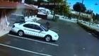 Couple Cheat Death as SUV Slams into Their Motel Room