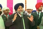 SARNA TRYING TO WEAKEN THE SIKHS UNITY-SUKHBIR SINGH BADAL