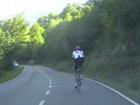 Sur le Puerto de Somiedo et pendant ce temps Contador...