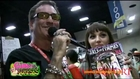 Charlie Laine interview at Comic Con 2012