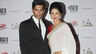 Karan Singh Grover With Wife Jennifer Winget @ 2013 Indian Telly Awards